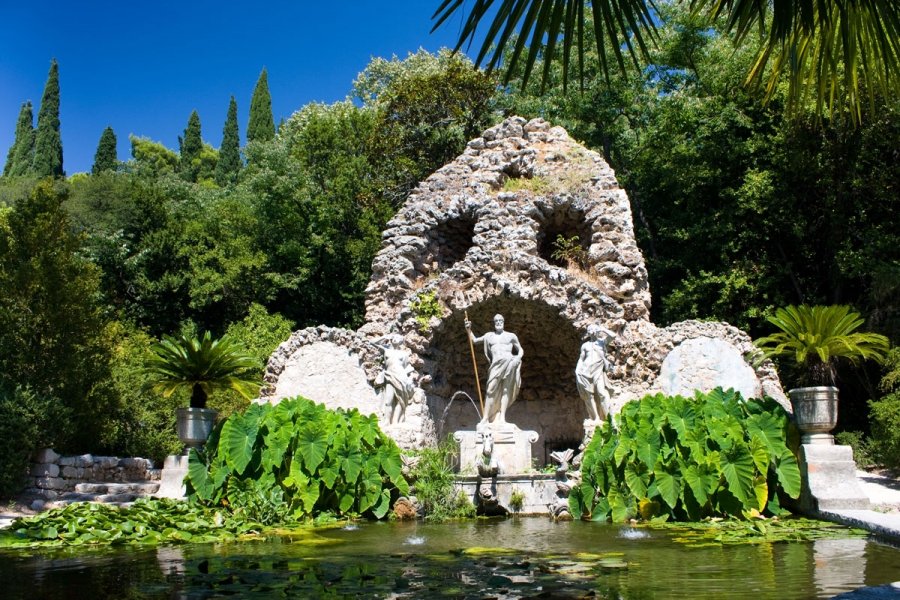 Croatia Food & Drink Tour - Stop at the Arboretum during the drive to Korcula