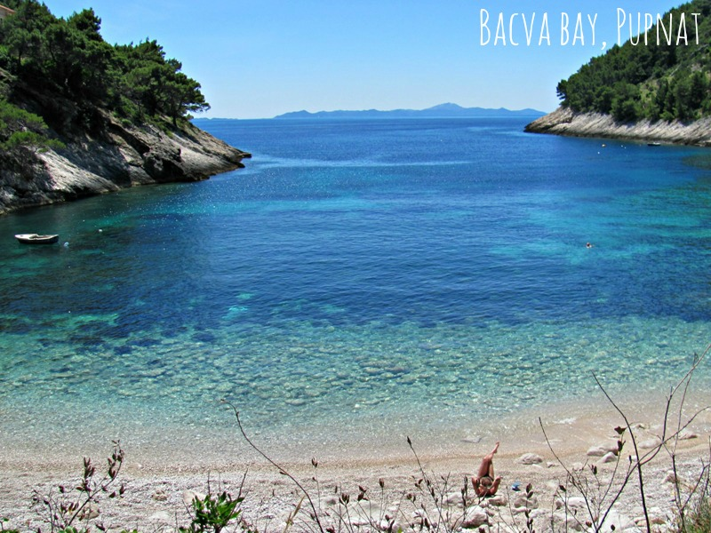 Beaches on Korcula - Bacva
