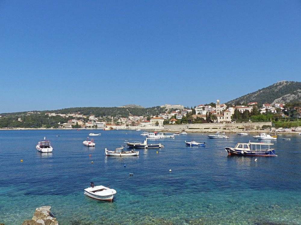 Day Trip to Hvar from Korcula - Enjoy a coffee on the waterfront