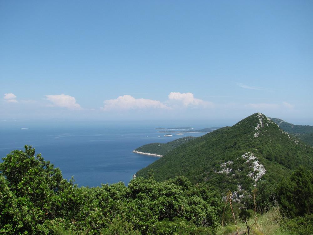 Climb up high for Lastovo views