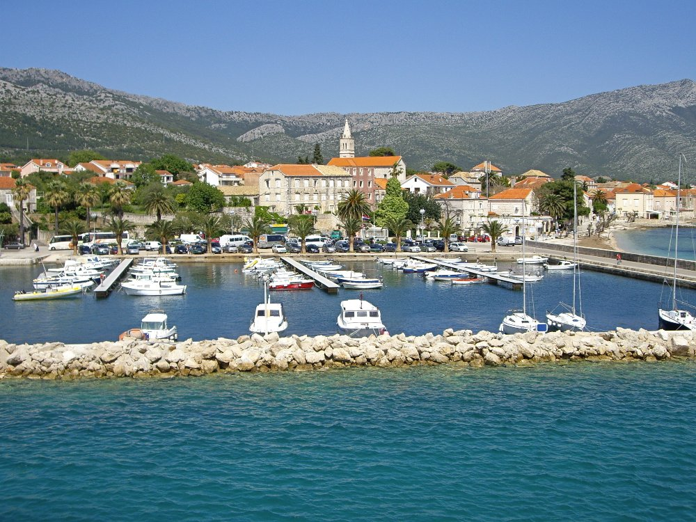 Take a day trip to Orebic from Korcula