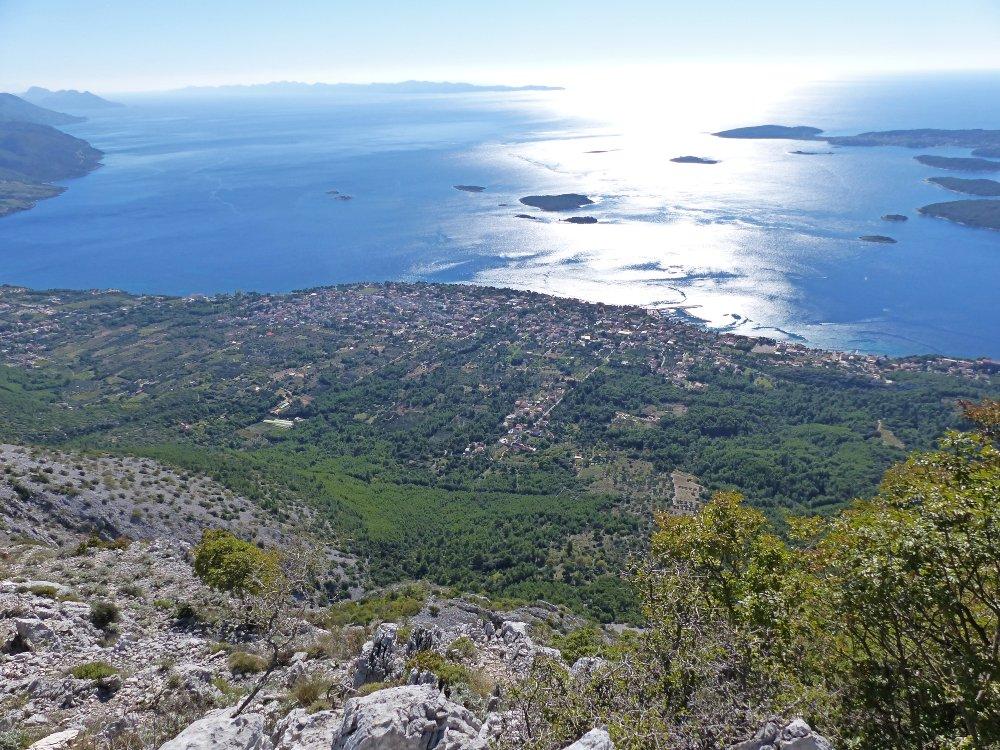 Climb Sveti Ilija mountain in Orebic