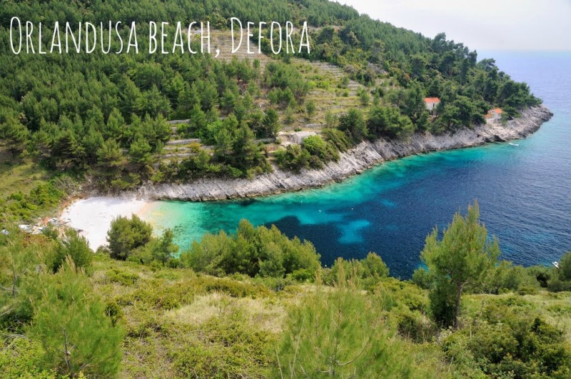 Beaches on Korcula - Orlandusa in Defora