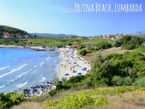 Beaches on Korcula - Sandy beaches Lumbarda Przina