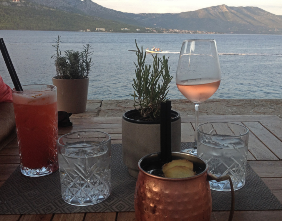 Things to do Korcula - Enjoy a cocktail