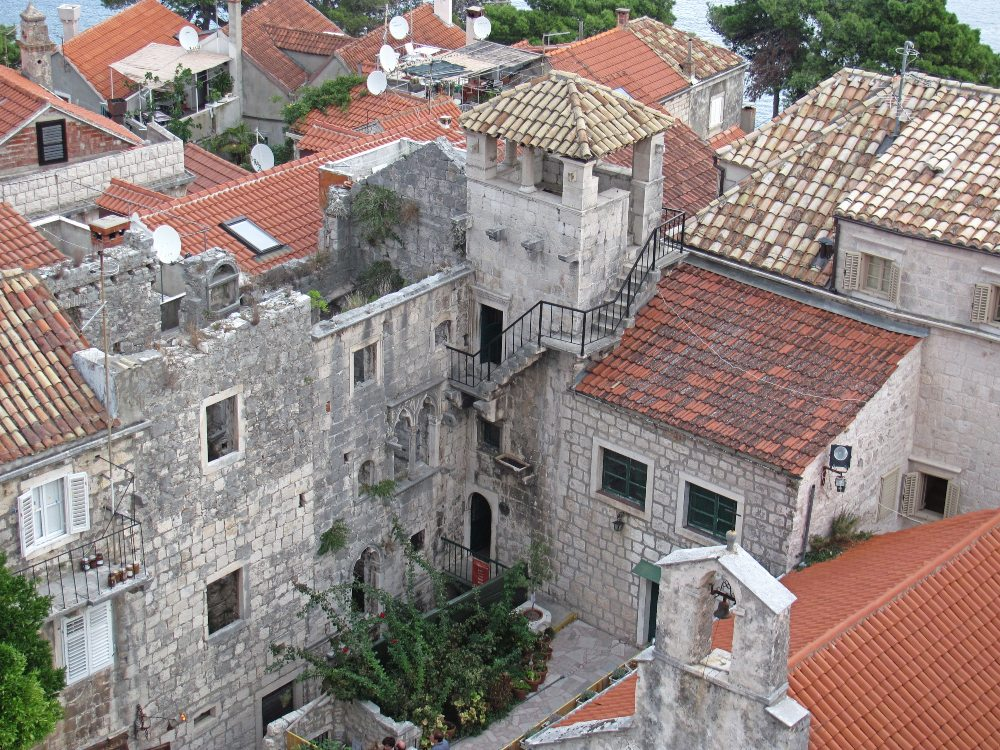 Things to do Korcula - explore the Old Town