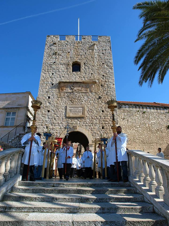 Events in Korcula 2020 - Watch the Easter parade