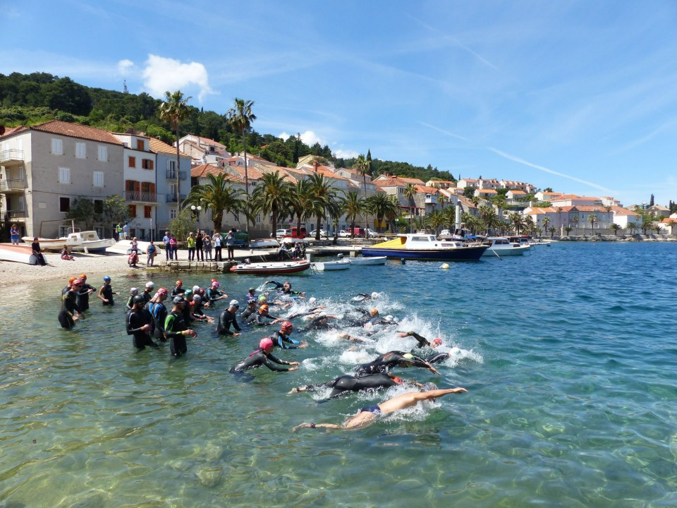 Things to do on Korcula in 2020 - Watch the Marco Polo Triathlon