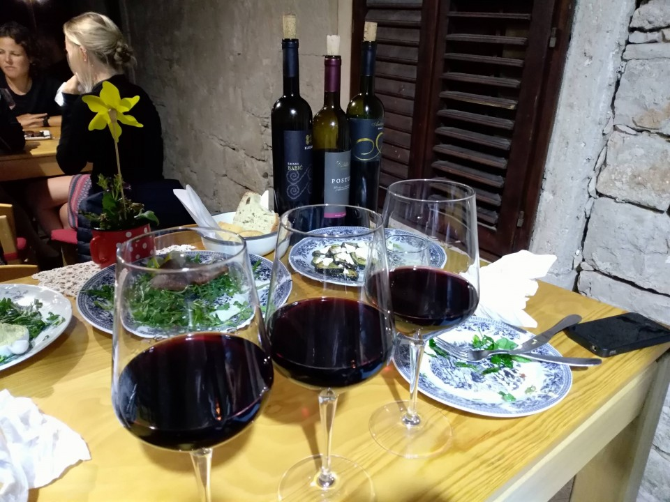 Wine Tasting at Lole bar in Korcula Old Town