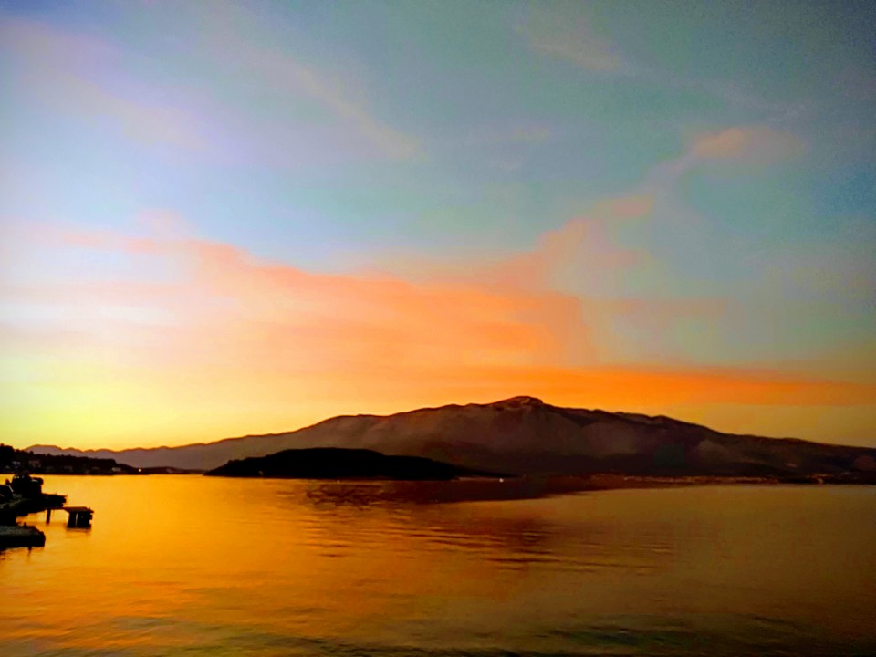 Take time to watch a beautiful sunset on Korcula
