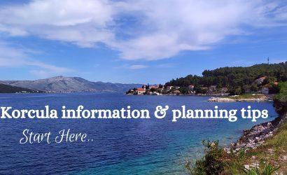 Korcula information & planning tips